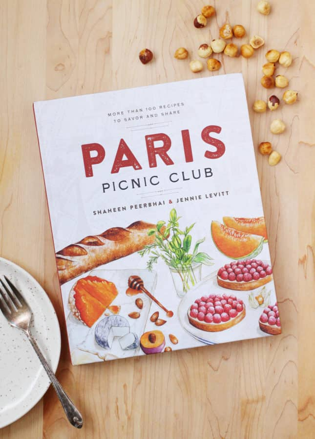 Paris Picnic Club Cookbook by Shaheen Peerbhai and Jennie Levitt // FoodNouveau.com