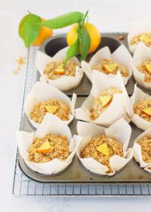 Whole Orange and Maple Oatmeal Muffins // FoodNouveau.com