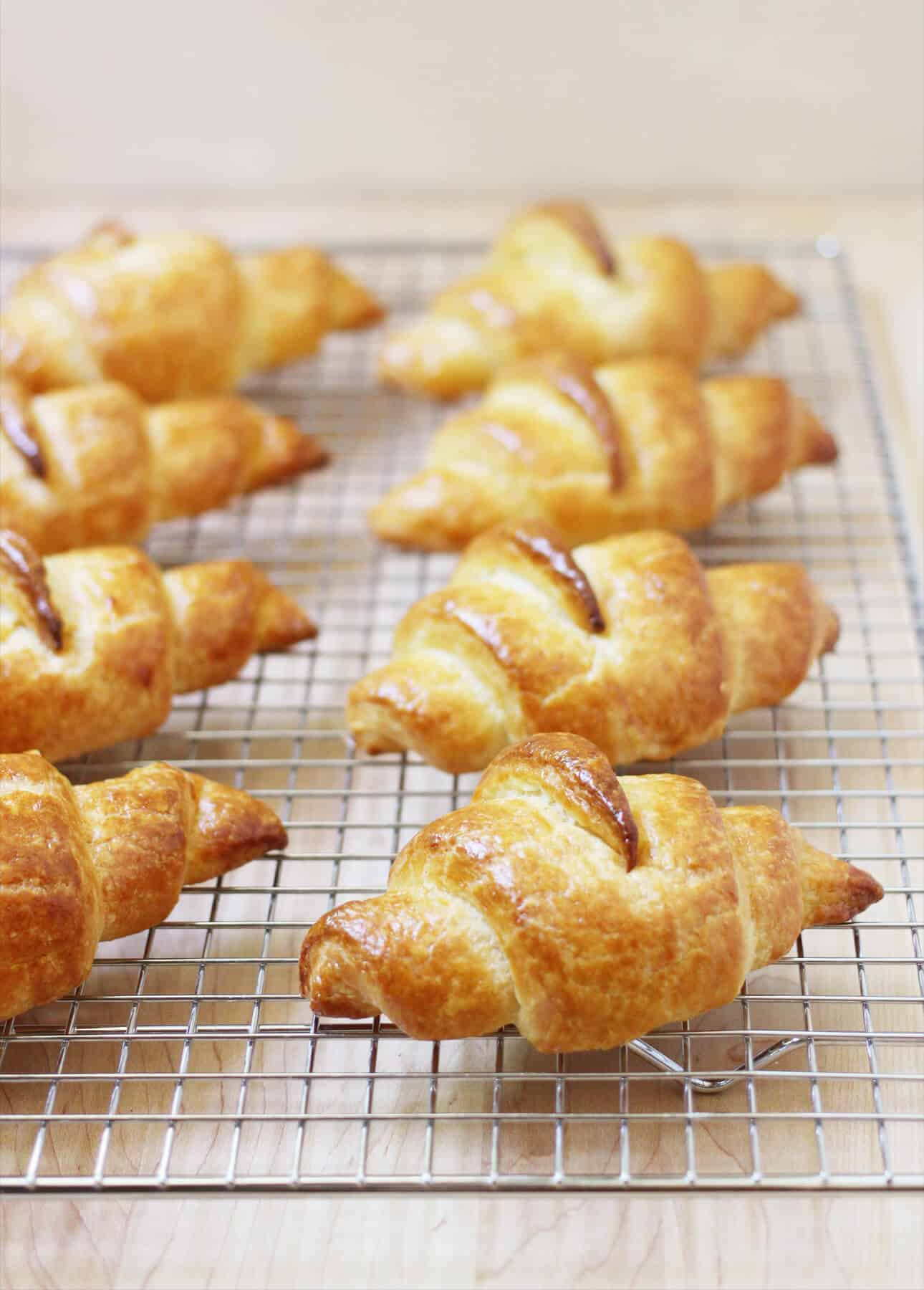 Homemade Croissants from In the French Kitchen with Kids
