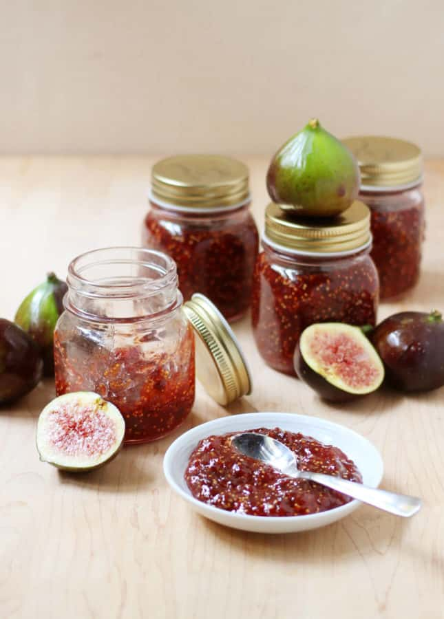 Balsamic Fig Jam // FoodNouveau.com