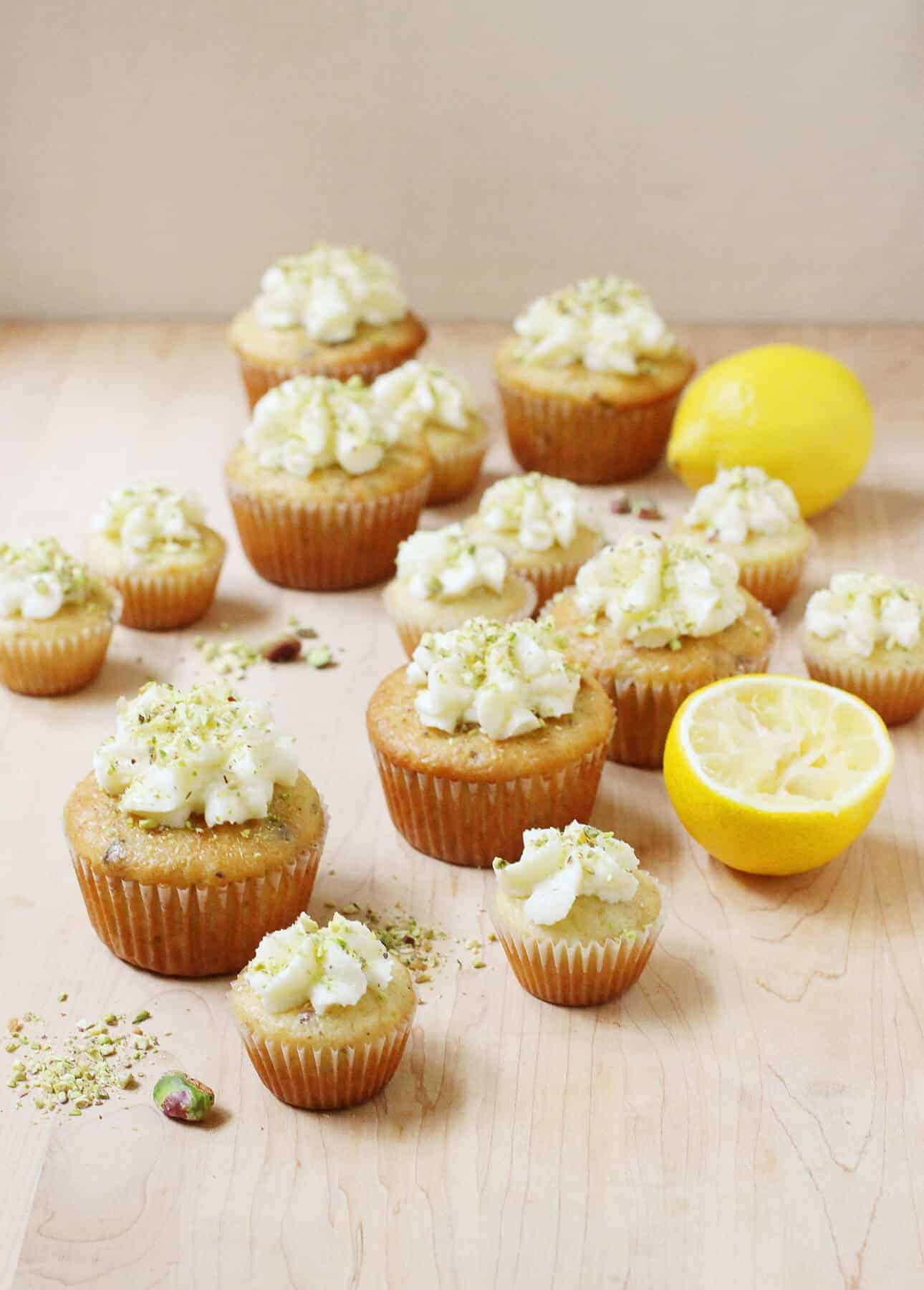 Lemon Pistachio Muffins, from Oh Sweet Day! A Celebration Cookbook