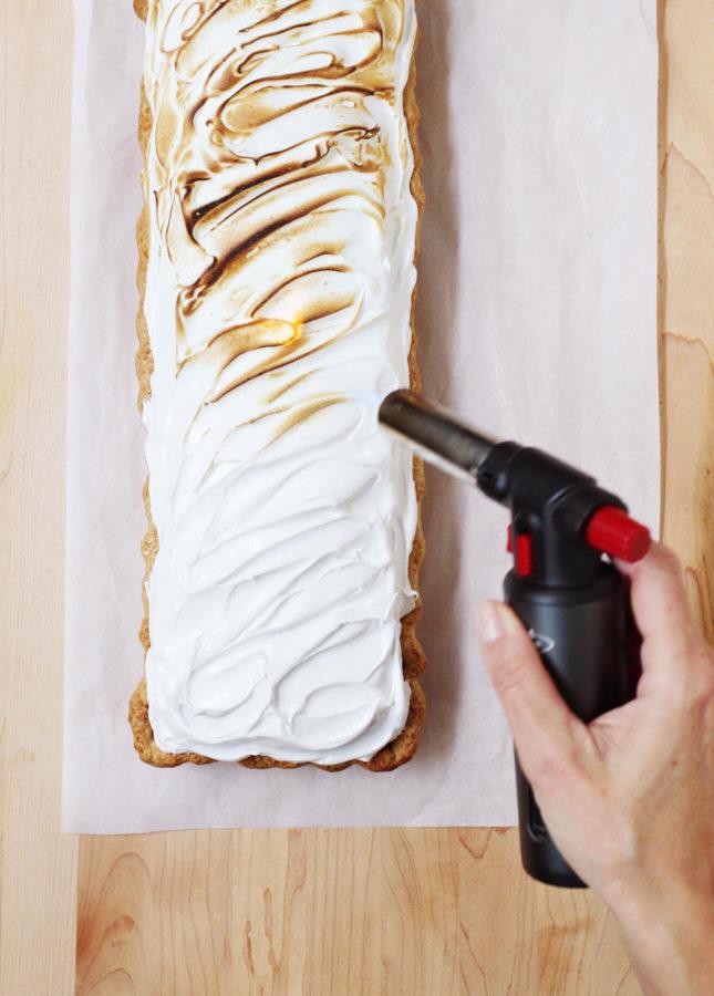 Chocolate Meringue Pie // A recipe by FoodNouveau.com