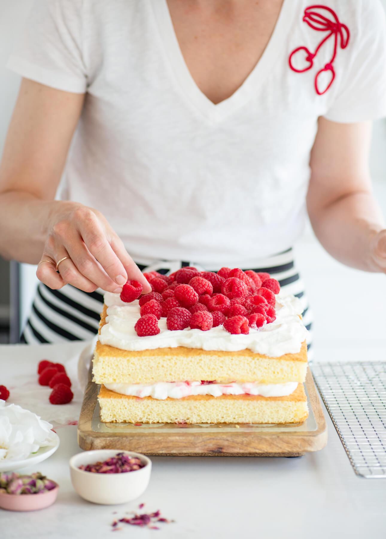 Easy, Versatile Layered Sheet Cake