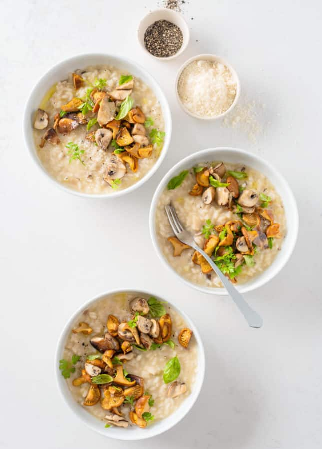 Wild Mushroom Risotto // FoodNouveau.com