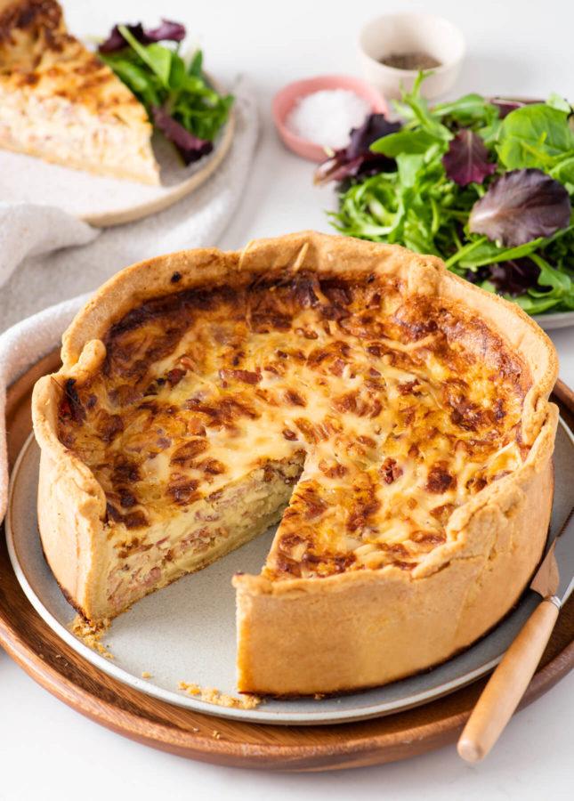 How to Make Classic Quiche Lorraine // FoodNouveau.com