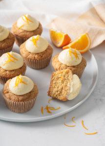 Vegan Carrot Cupcakes // FoodNouveau.com