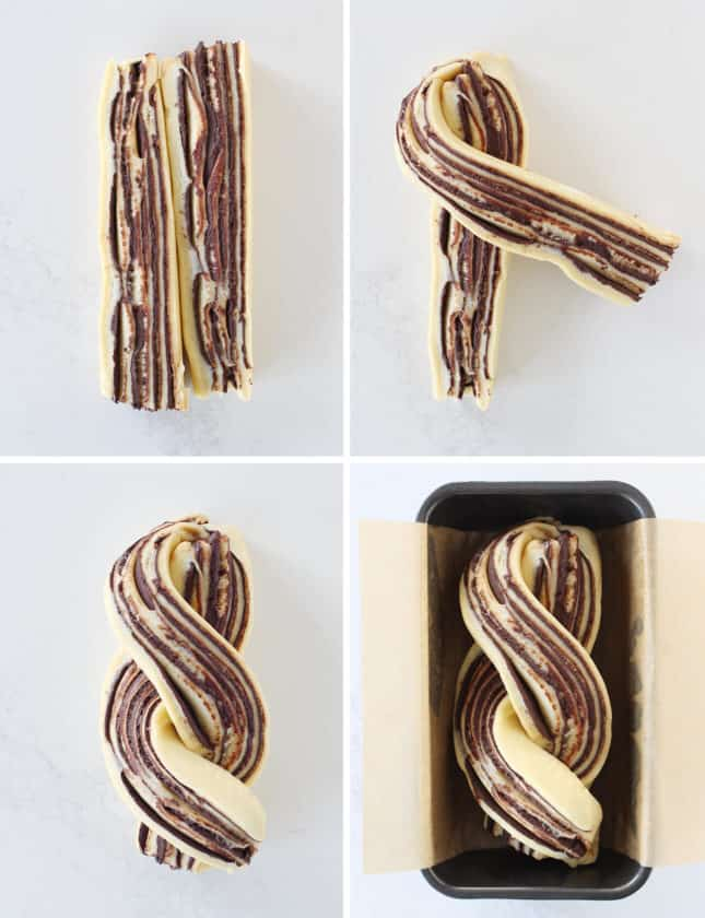 How to Braid Chocolate Babka // FoodNouveau.com