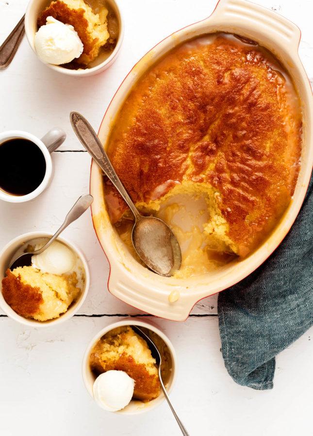 Pouding chômeur à l'érable (Québécois Maple Pudding) // FoodNouveau.com