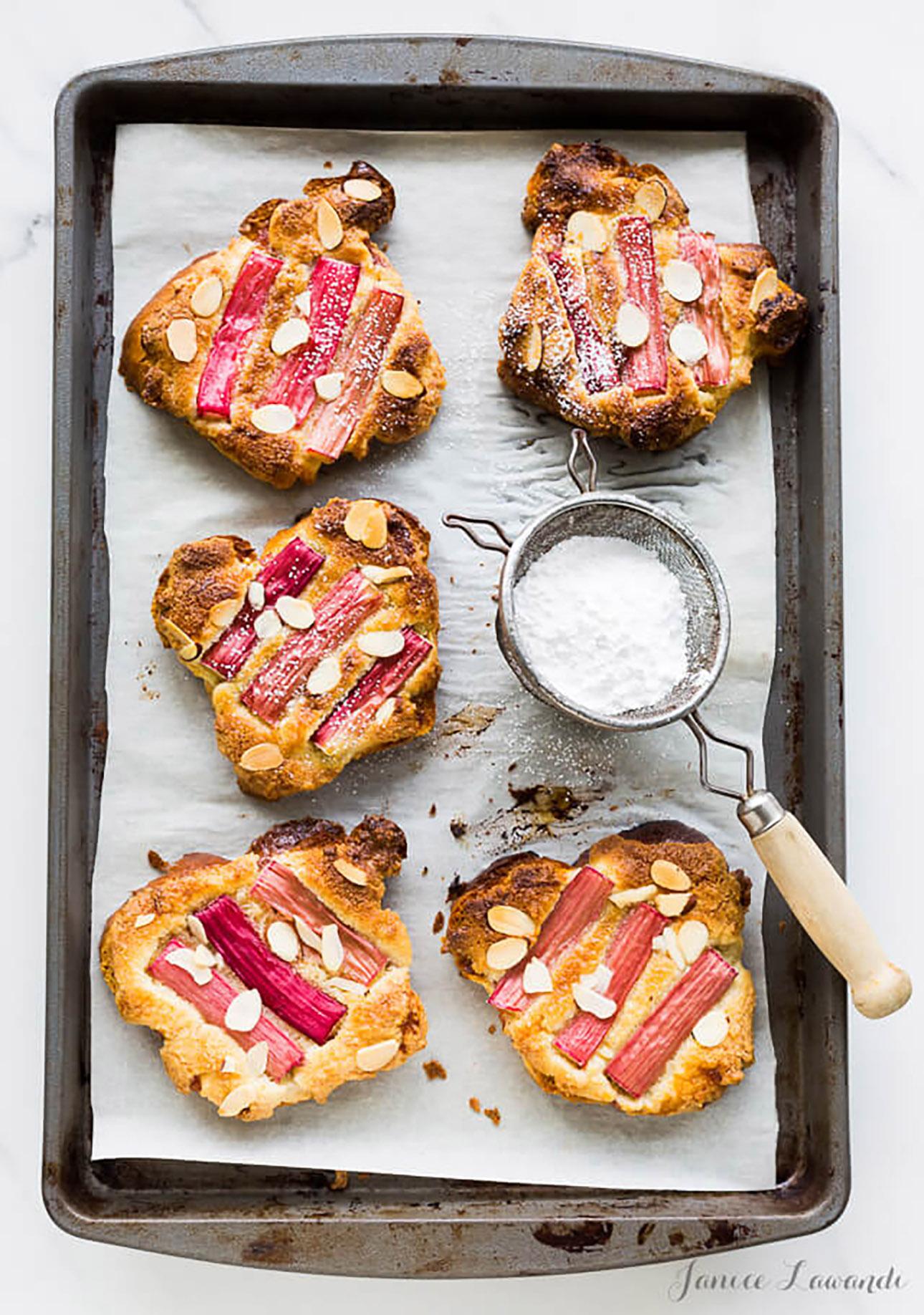 Rhubarb Bostock by The Bake School // 15 Rhubarb Dessert Recipes for Spring