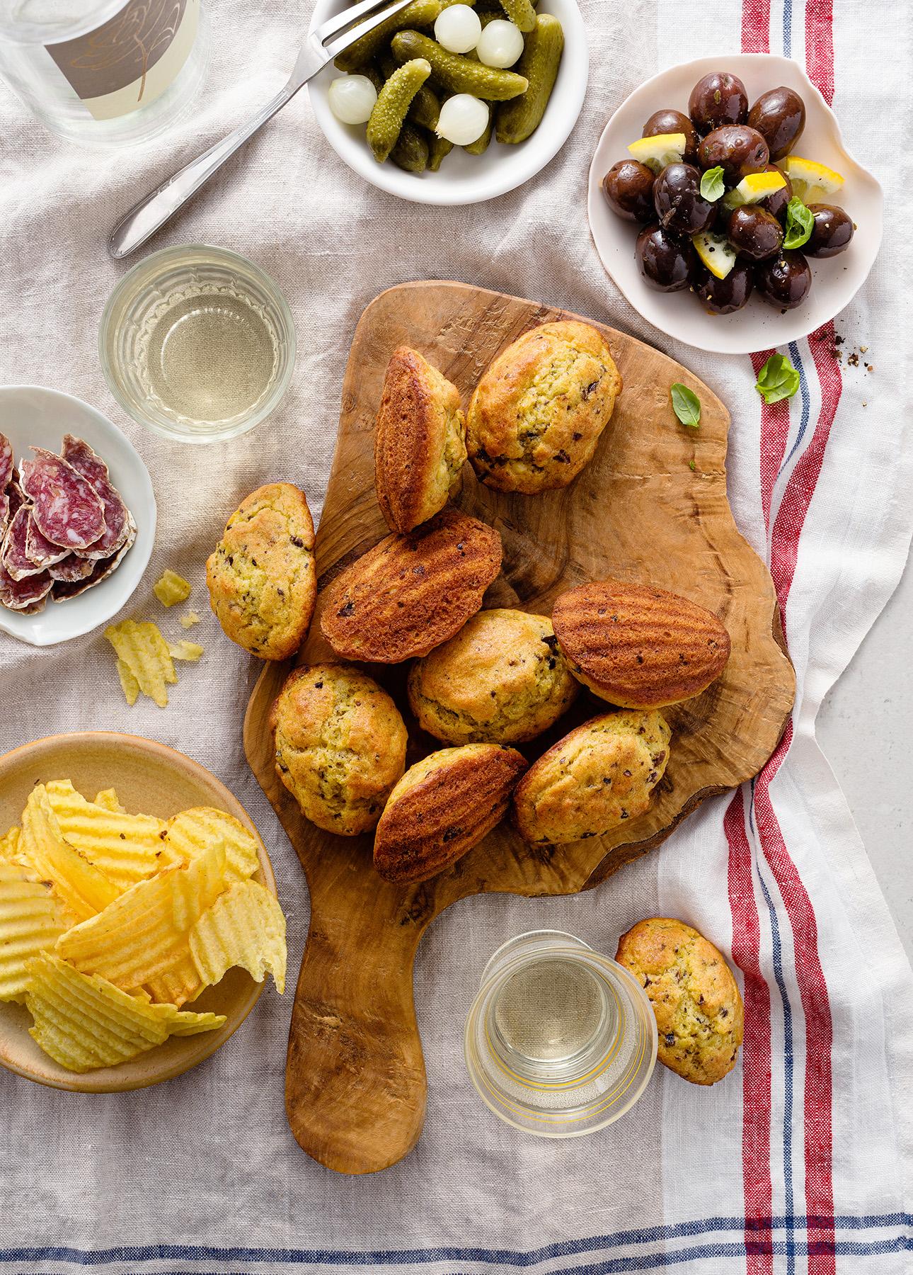 How to Make Savory Madeleines // FoodNouveau.com