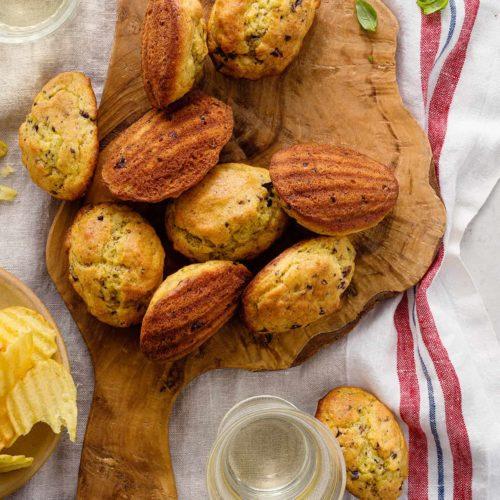 Savory Madeleines // FoodNouveau.com