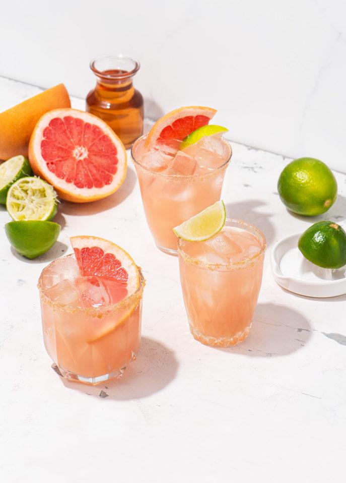 Maple Paloma Cocktail // FoodNouveau.com